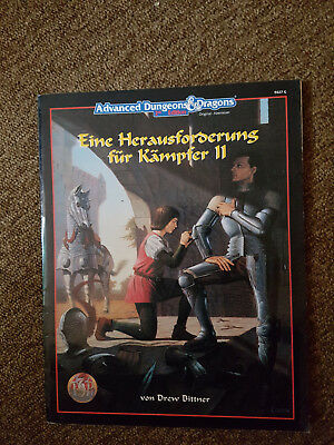 AD&D / Advanced Dungeons&Dragons - Herausforderung für den Kämpfer-  TSR  9427G