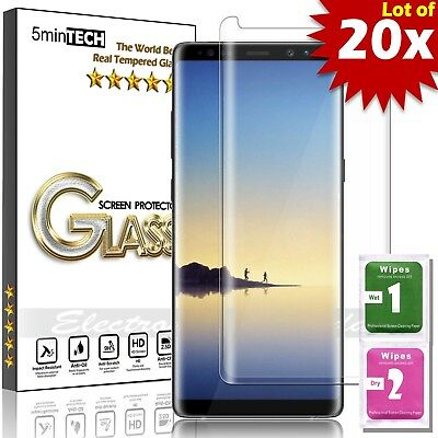 LOT of 20 Tempered Glass FOR GALAXY【NOTE 9 -3D Curved】Screen Protector Premium