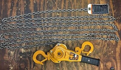 Harrington come along Lever Hoist 1 ton LB010 chain hoist 10 ft lift
