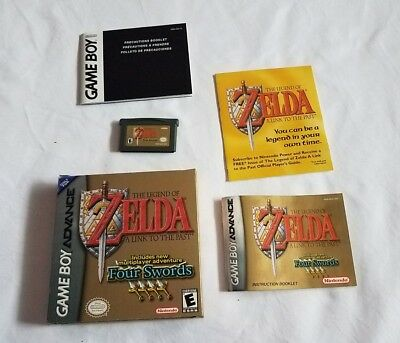 Legend of Zelda: A Link to the Past (Nintendo Game Boy Advance GBA COMPLETE