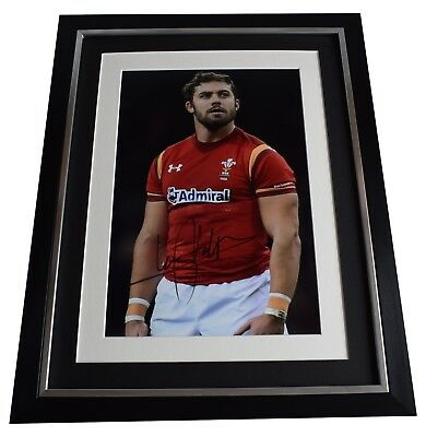 Leigh Halfpenny Signed Framed Photo Autograph 16x12 display Wales Rugby Union