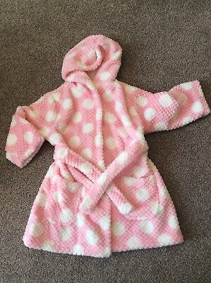 Girls Dressing Gown 18-24 Months
