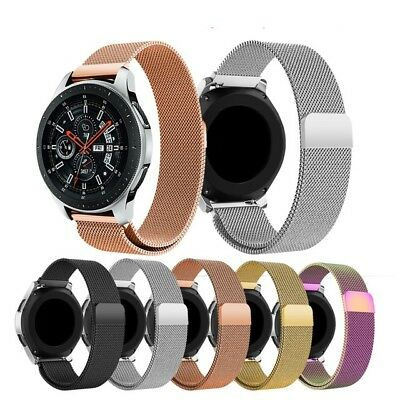 For Samsung Galaxy Watch 46mm Strap Milanese Stainless Steel Watch Band