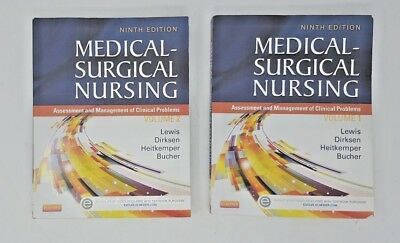 Medical Surgical Nursing 9th Edition Volume 1, Volume 2 and Study Guide