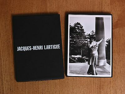 * JACQUES-HENRI LARTIGUE - 25 Different Postcards in Museum Box