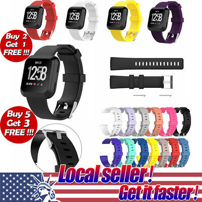 US For Fitbit Versa Watch Band Replacement Classic Soft Wrist Strap Watchband se