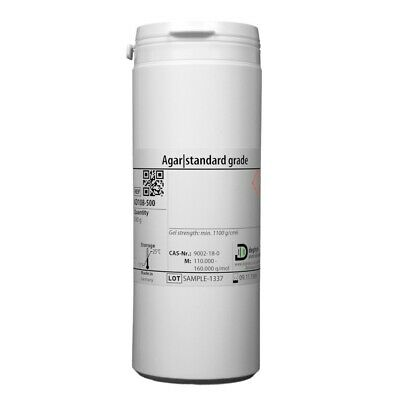 Agar   Gelling Agent - For Plant Tissue Culture and Micropropagation - 500 g