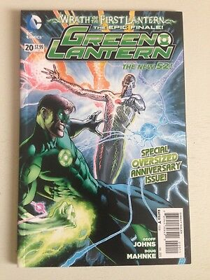 Green Lantern # 20 New 52 1st App Jessica Cruz NM