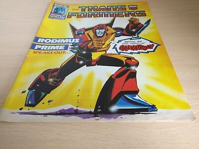 Transformers Comic #113 Marvel UK 1st Appearance Death's Head.