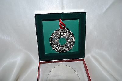 Reed & Barton Silver Plated HARVEST WREATH 2383 w/box