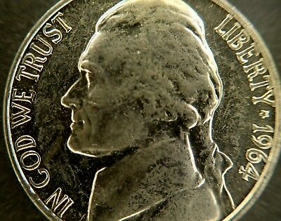 (40) 1964  Jefferson Nickel    Brilliant Uncirculated  R0Ll  Great Mint Luster