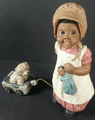 All God's Children Figurine BONNIE Martha Holcombe # 62 copyright 1987
