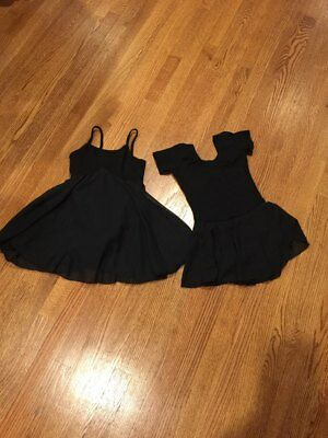 Skirted Ballet Leotards - Lot Of Two - Size Small