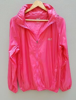 JACK WOLFSKIN Windshell Jacket Womens Size XL Lightweight Travel Outdoors Ladies