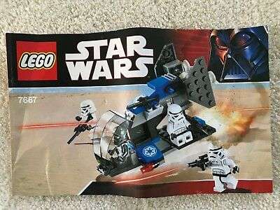 Lego Star Wars 7667 Imperial Dropship 100 Complete With