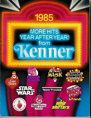 Kenner 1985 Toy Fair Catalog (ex Kenner w/employee price list insert included!!)