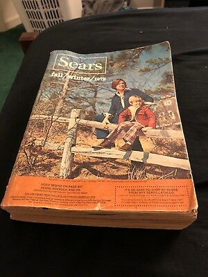 Vintage 70s 1975 Sears Fall Winter Catalog Eastern Edition