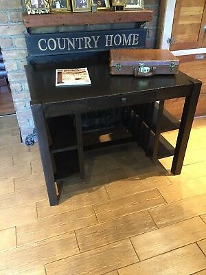 Craftsman Mission Desk With Built-in Book Shelf - Comes With Chair