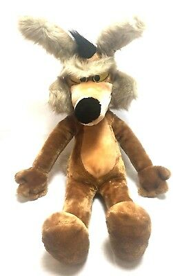 "Vintage Wile E Coyote Plush 24K Mighty Star 28"" Warner Bros. Looney Tunes 1993"