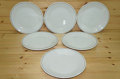 """Braniff Airlines China Set of (6) Salad Plates, 7""""  747-PL-8"""