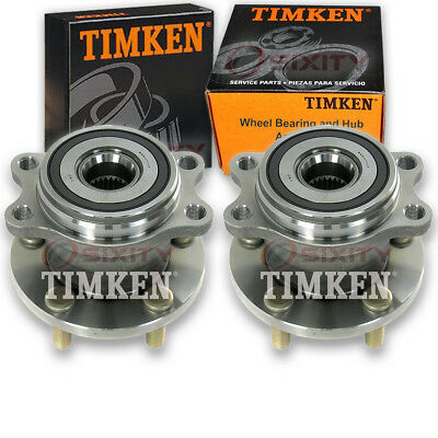 Timken Rear Wheel Bearing & Hub Assembly for 2005-2009 Subaru Outback Pair km