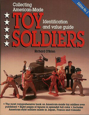American Made Toy Soldiers 3ED ID/Value Guide Most Comprehensive Book - O'Brien