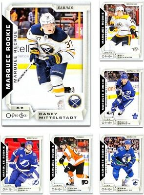 2018-19 O-Pee-Chee MARQUEE ROOKIES **** PICK YOUR CARD **** From The LIST