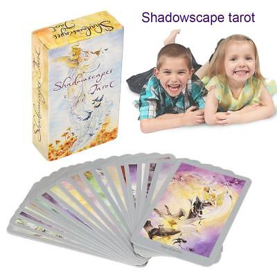 78pcs Destiny Tarot Cards Fortune Telling Cards Deck Party Games Gift Toy Craft