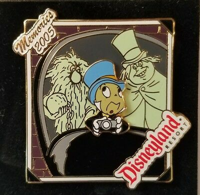 Disney Pin Dlr Le Jiminy Cricket Haunted Mansion Memories Ghosts Doom Buggy