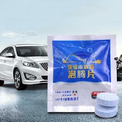 10Pcs Auto Car Windshield Glass Wash Cleaning Concentrated Effervescent Tablet