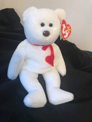 0ea41ecf774 RARE VINTAGE VALENTINO TY Beanie Baby - NWT - Misspelled Tag and PVC ...