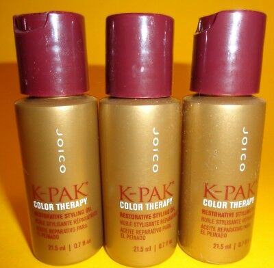 Joico K-PAK Color Therapy Restorative Styling OilHaarPflegeKur 3X21,5 ml=64,50ml