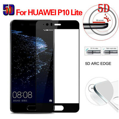 5D Full Cover Tempered Glass Screen Protector Fr Huawei Mate Honor P10 P20 P9/8