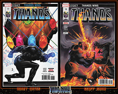 Thanos #17 18 (2018) 1St Print Set Cosmic Ghost Rider Donny Cates Marvel 9.4 Nm