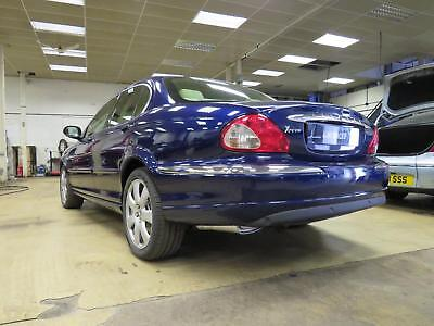 Charming 2003 03 Jaguar X Type 2.0 Manaul Blue 69,000 Miles Great Condition Cat D
