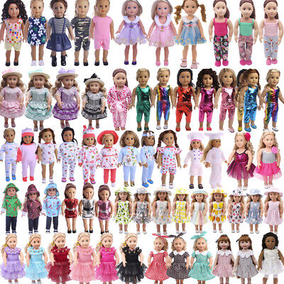 DIYClothes Dress Swimwear For American Girl 18inch Our Generation Logan Doll Lot