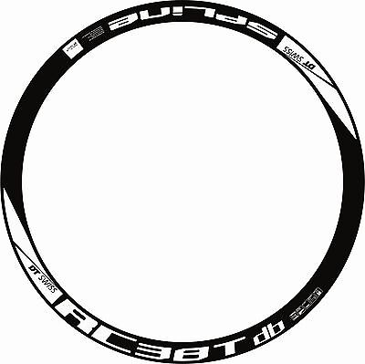 RIM DECAL SETS for two wheels DT SWISS SPLINE RC 38T