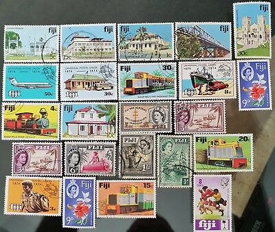 Fiji Mint and Used Stamps Collection Lot
