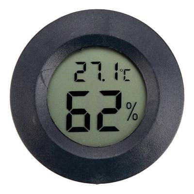 Mini Round Thermometer Hygrometer Digital LCD High Quality Temperature GL568