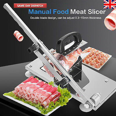 Adjustable Manual Frozen Food Meat Slicer Beef Mutton Sheet Roll Cleaver Cutter
