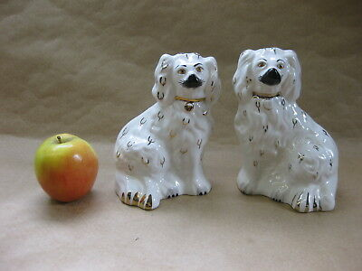Pair of Vintage Beswick Spaniel Dogs ~ Mantel / Wally Dogs ~ 1378 - 6
