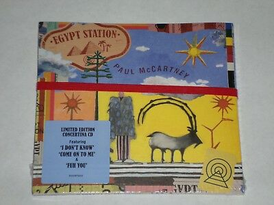 Paul McCartney -Egypt Station-2018 Limited Edition Concertina CD -BRAND NEW