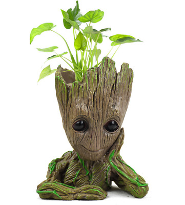 Guardians of The Galaxy  Baby Groot Flowerpot Pen Pot Box FigureToy gift 16cm