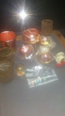 Lot of Vintage Dollhouse Miniatures with Free Shipping!!!!!