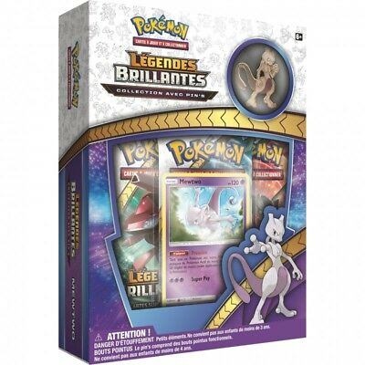 Pokemon Coffret : Collection avec pin's Légendes Brillantes – Mewtwo
