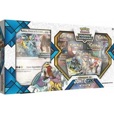 Pokemon Legendaire - Coffret Legendes de Johto GX Collection 2018