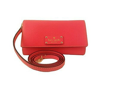 Kate Spade Wellesley Natalie Hot Rose Pink Leather Cross-body Bag - NWT