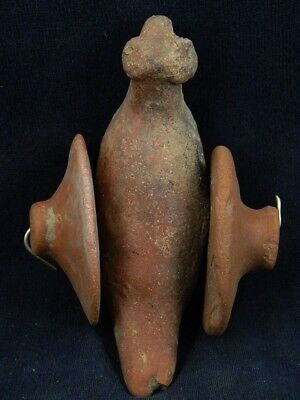 Ancient Teracotta Bird With Wheels Indus Valley 800 BC  #TR8087