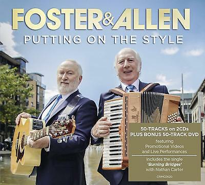 Foster & Allen Putting On The Style 2 Cd / Dvd Set - New Release September 2018