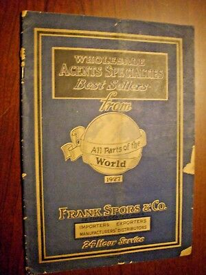 11. 1927 Frank Sports & Co Import/Export